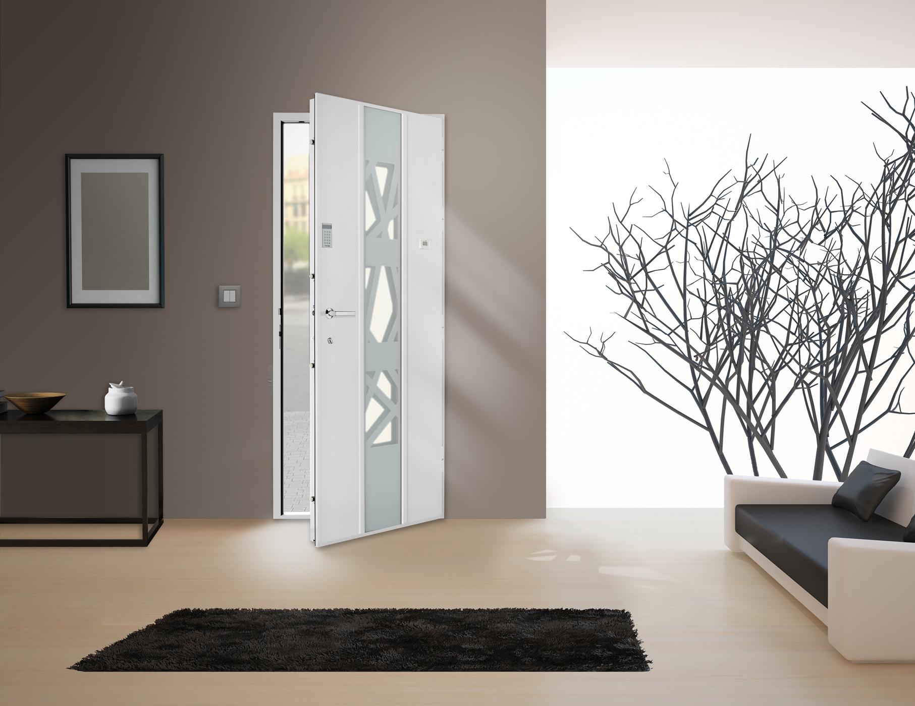 Serrure et décoration de porte