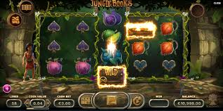 Yggdrasil Gaming, la machine à sous Jungle Books